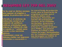 RESUMEN LEY 789