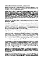 Resumen PENSANDO SOCIOLOGICAMENTE - BAUMAN