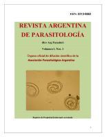 Revista de parasitologia arg