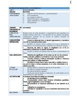 Secuencia Didactica Castellano 8
