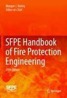 SFPE Handbook of Fire Protection Engineering 5th Edition