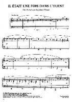 (Sheet Music) Ennio Morricone - Once Upon a Time in the West - Theme
