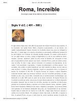 Siglo V d.C