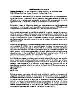 (SR) Formativa IV Teoria y Tecnica de Desicion Hipotesis