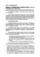 Tema 2. El Regimen Local Normativa Basica y Ley de Autonomia Local de Andalucia