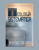 Teologia Sistematica-Wayne Grudem