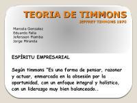 Teoria de Timmons