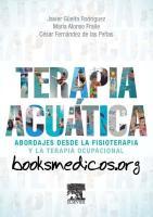 Terapia acuatica Abordajes desde la fisioterapia y la terapia ocupacional