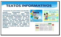 Textos Informativos Carteles