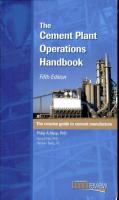The Cement Plant Operations Handbook - 5th Edition
