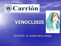 Venoclisis y Endovenosa