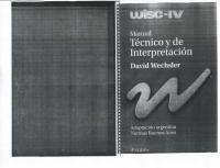 (WISC - IV) Manual Tecnico y de interpretacion.pdf